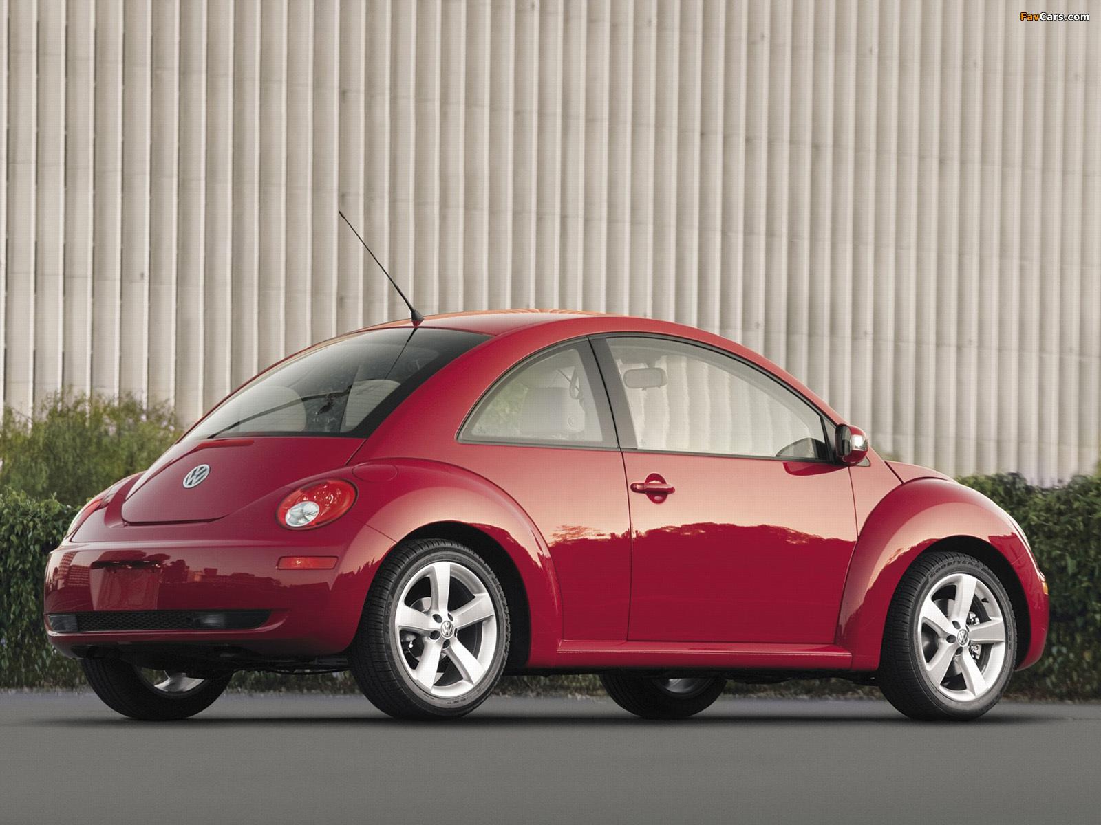 Volkswagen New Beetle US-spec 2006–10 images (1600 x 1200)