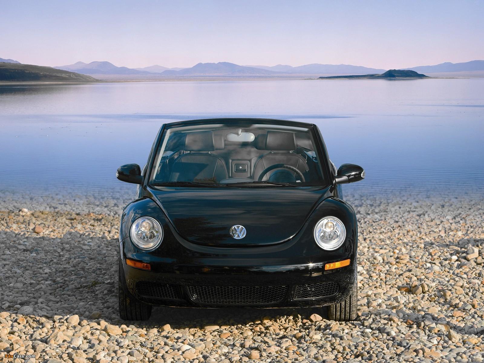 Volkswagen New Beetle Convertible 2006–10 images (1600 x 1200)
