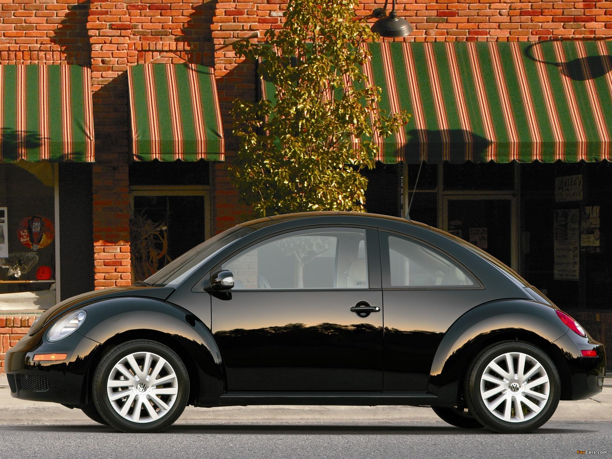 Volkswagen New Beetle US-spec 2006–10 photos (2048 x 1536)