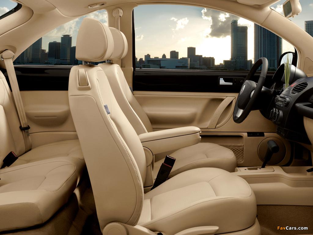 Volkswagen New Beetle US-spec 2006–10 photos (1024 x 768)