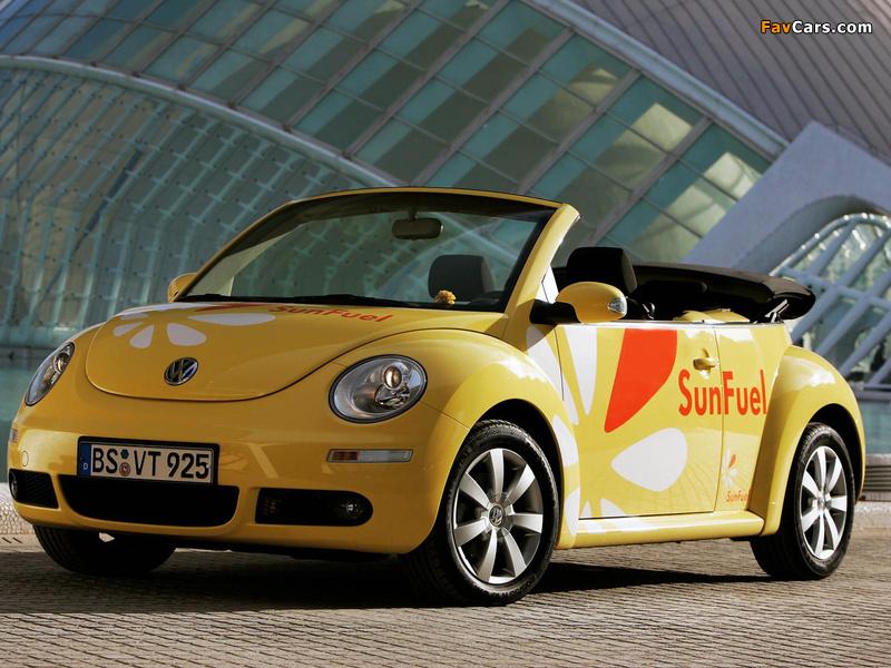 Volkswagen New Beetle Cabrio SunFuel Concept 2006 photos (800 x 600)