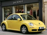 Volkswagen New Beetle UK-spec 2006–10 photos