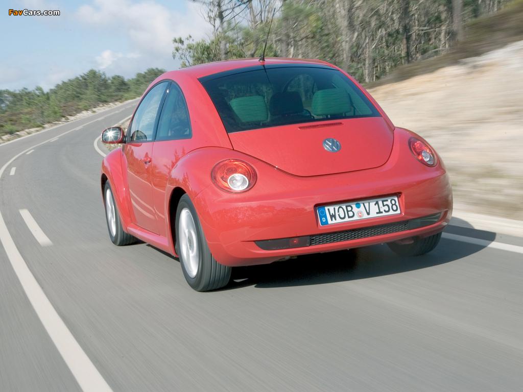 Volkswagen New Beetle 2006–10 photos (1024 x 768)