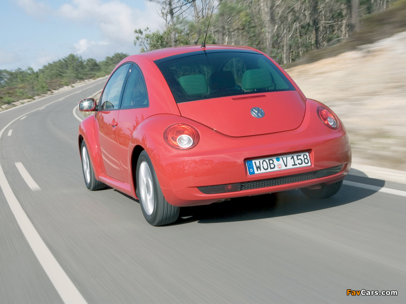 Volkswagen New Beetle 2006–10 photos (800 x 600)