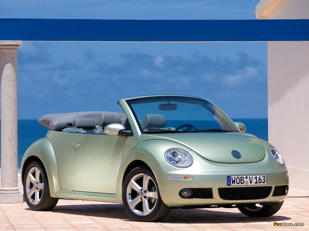 Volkswagen New Beetle Cabrio 2006–10 photos (1024 x 768)