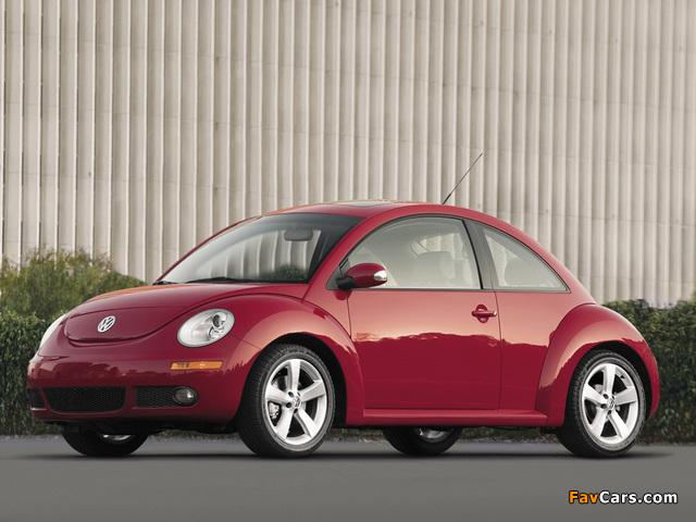 Volkswagen New Beetle US-spec 2006–10 pictures (640 x 480)