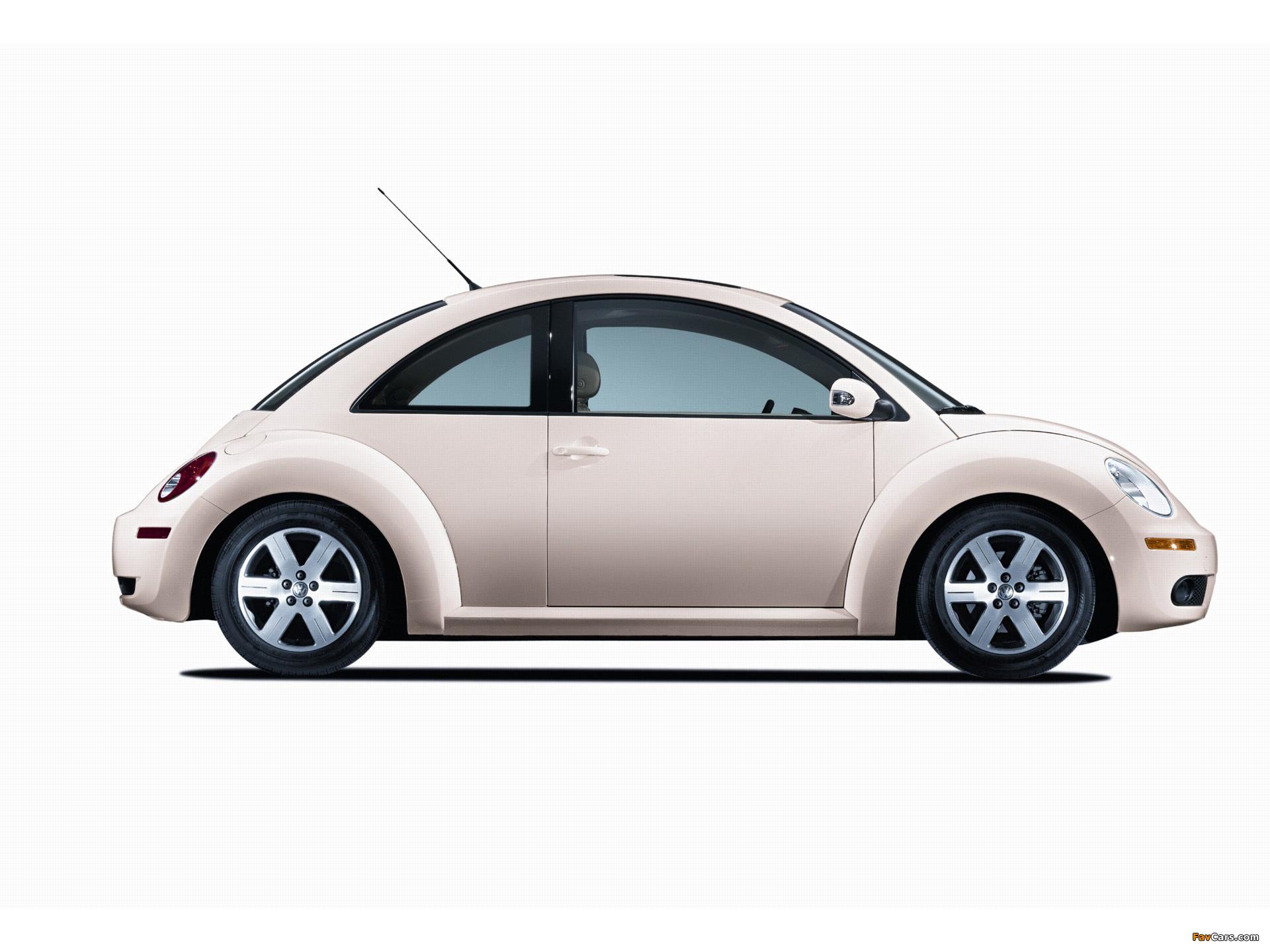 Volkswagen New Beetle US-spec 2006–10 pictures (1920 x 1440)