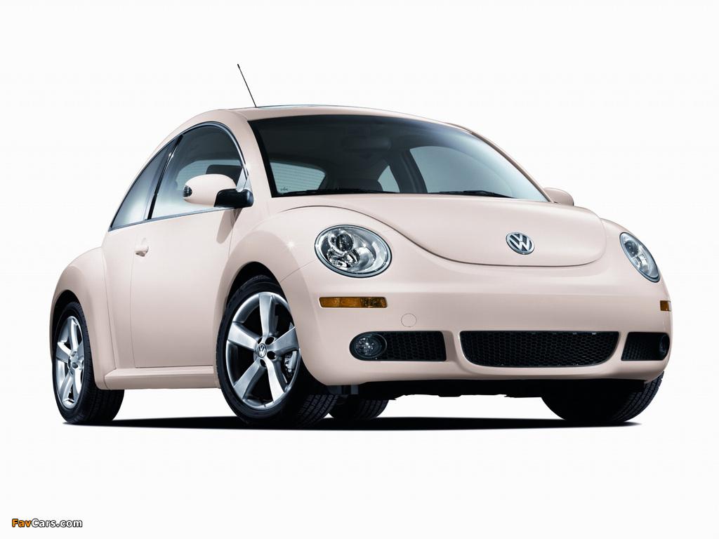 Volkswagen New Beetle US-spec 2006–10 pictures (1024 x 768)