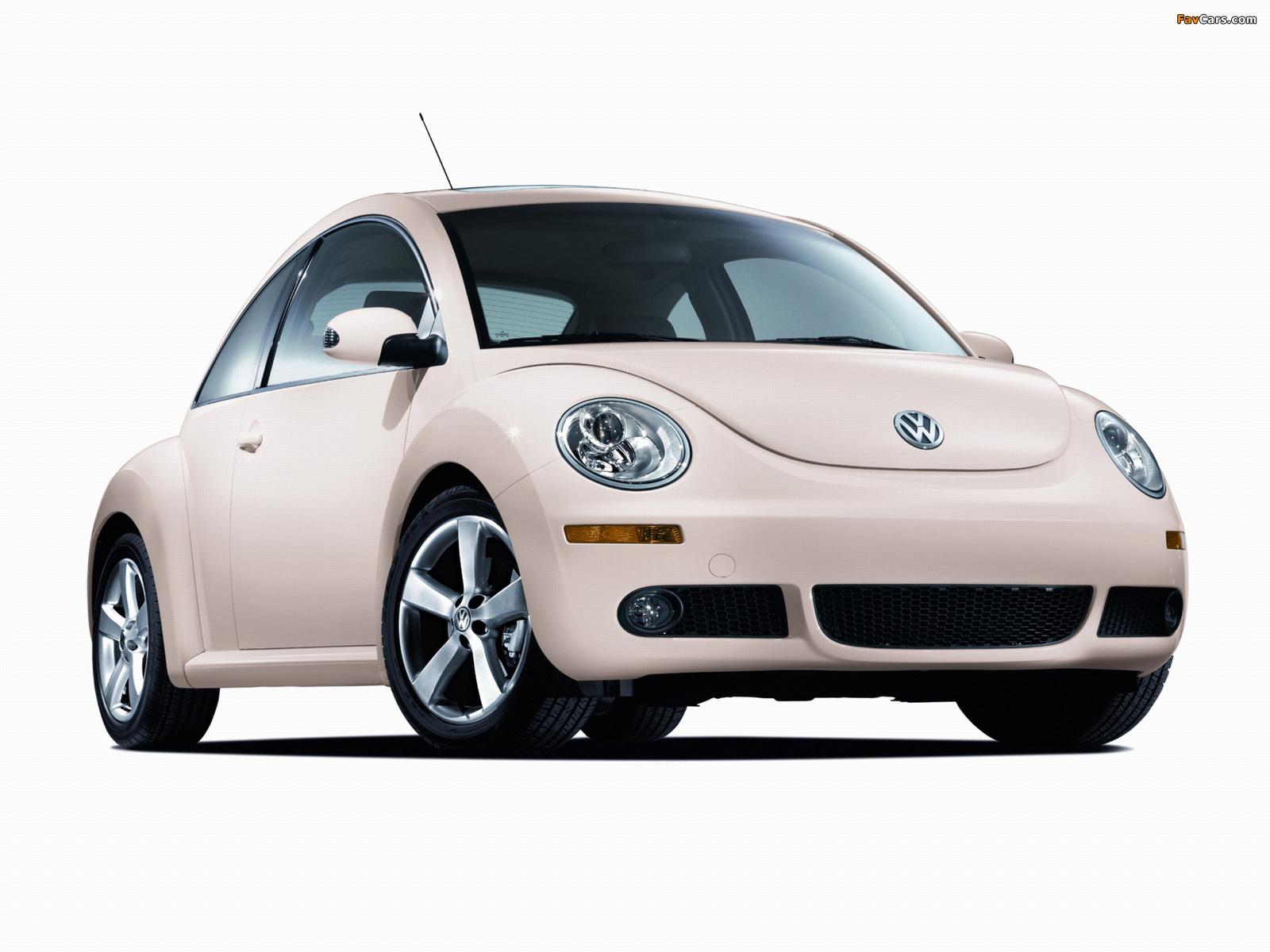 Volkswagen New Beetle US-spec 2006–10 pictures (1600 x 1200)