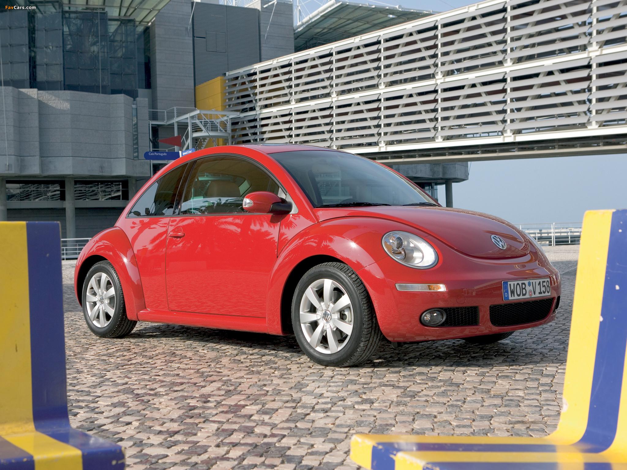 Volkswagen New Beetle 2006–10 pictures (2048 x 1536)