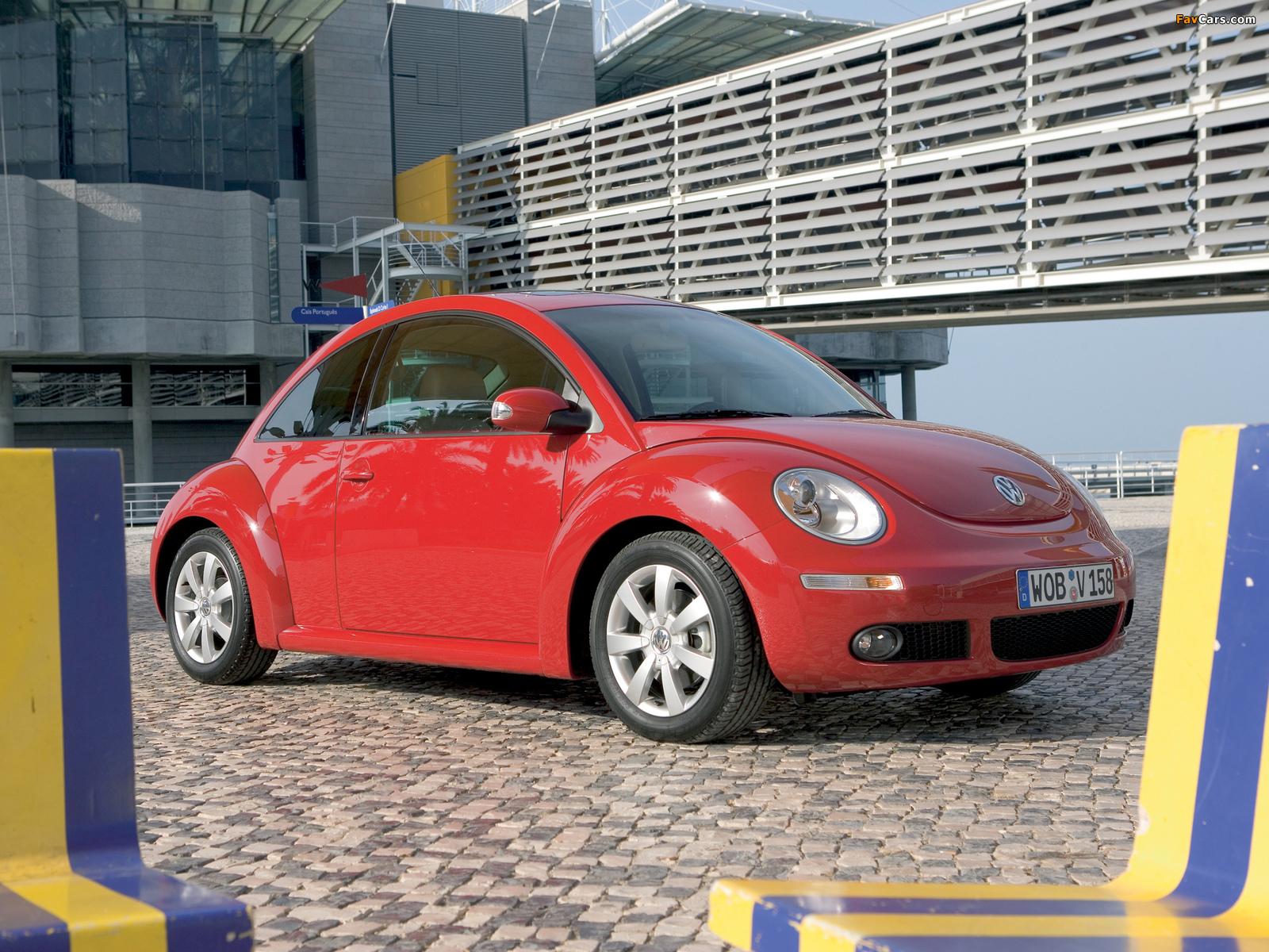 Volkswagen New Beetle 2006–10 pictures (1600 x 1200)