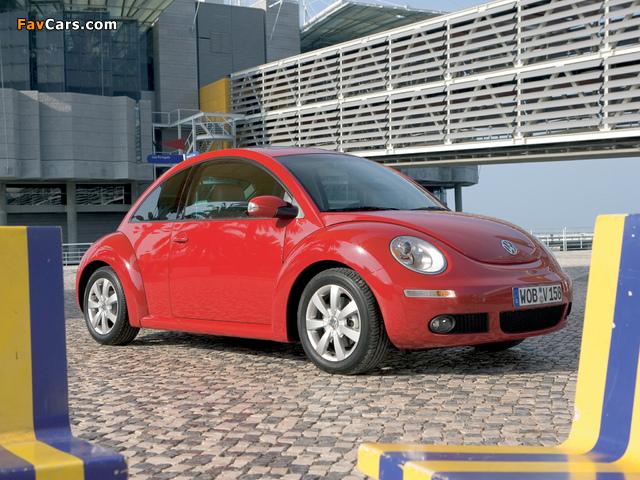 Volkswagen New Beetle 2006–10 pictures (640 x 480)