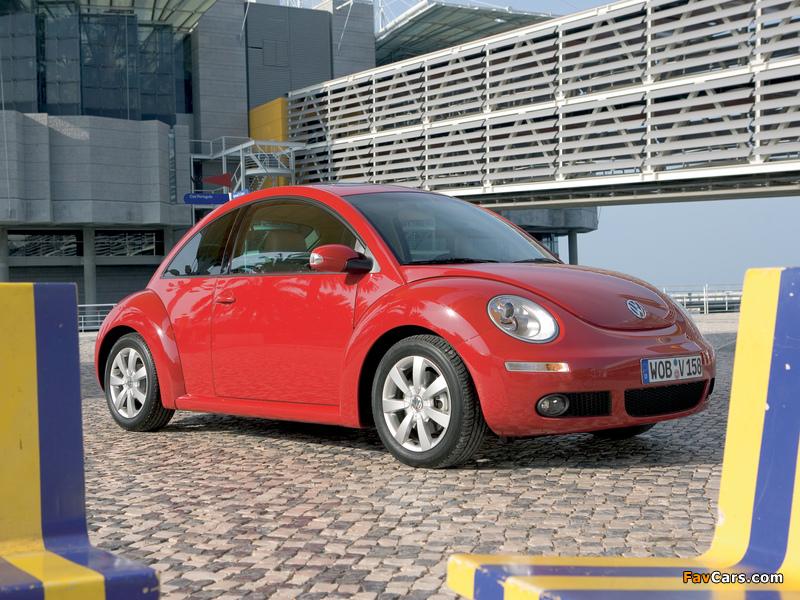 Volkswagen New Beetle 2006–10 pictures (800 x 600)