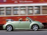 Volkswagen New Beetle Cabrio 2006–10 pictures