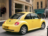 Volkswagen New Beetle UK-spec 2006–10 wallpapers