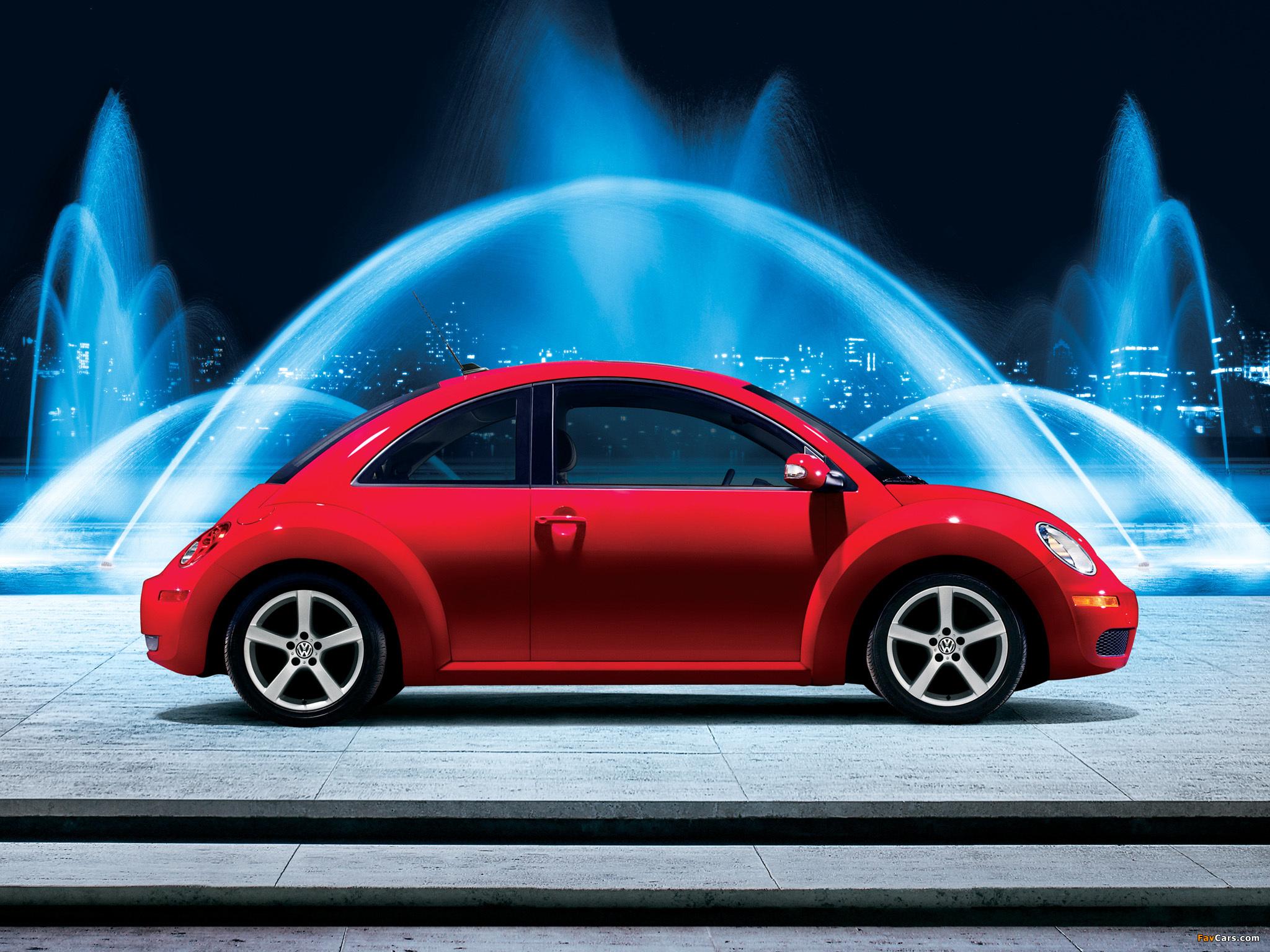 Volkswagen New Beetle US-spec 2006–10 wallpapers (2048 x 1536)