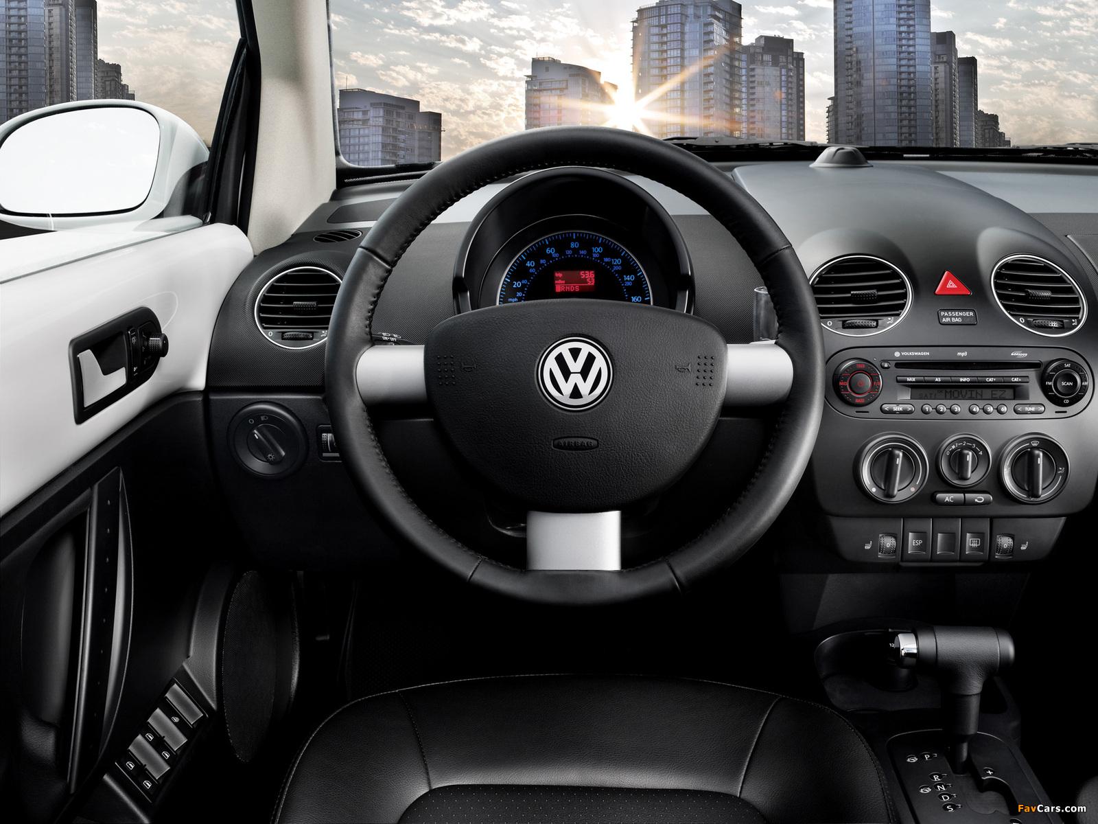 Volkswagen New Beetle US-spec 2006–10 wallpapers (1600 x 1200)
