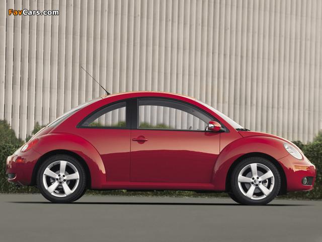 Volkswagen New Beetle US-spec 2006–10 wallpapers (640 x 480)
