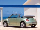 Volkswagen New Beetle Cabrio 2006–10 wallpapers