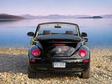 Volkswagen New Beetle Convertible 2006–10 wallpapers
