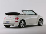 Volkswagen New Beetle Convertible Triple White 2007 images