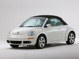 Volkswagen New Beetle Convertible Triple White 2007 photos