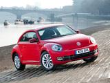 Volkswagen Beetle UK-spec 2011 images
