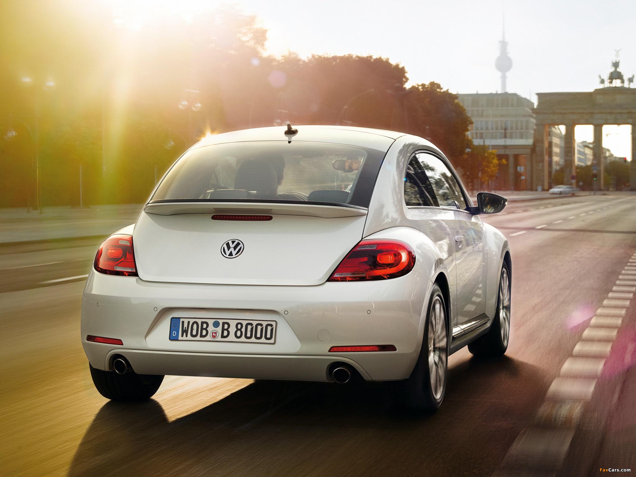 Volkswagen Beetle Turbo 2011 photos (2048 x 1536)