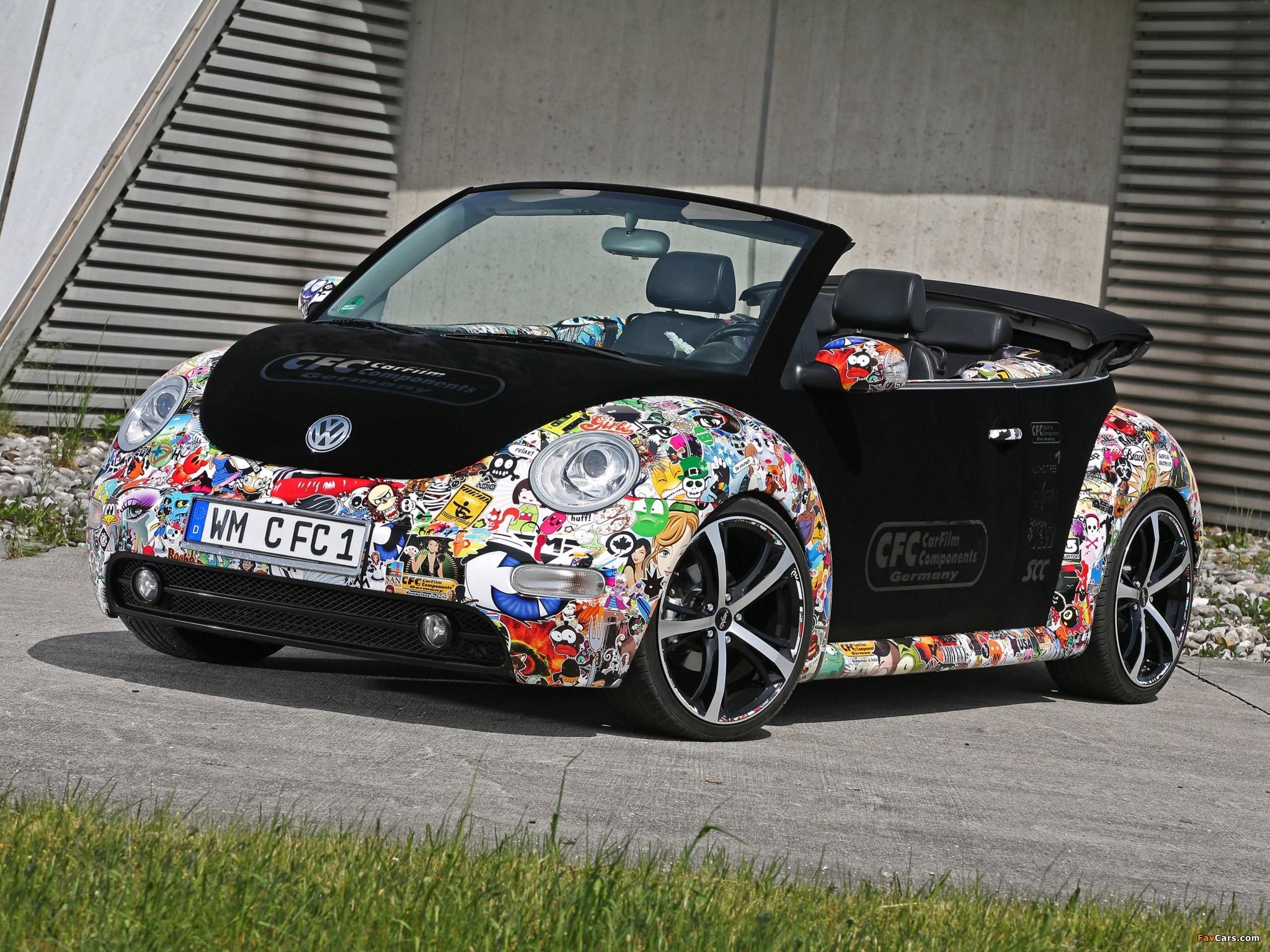 CFC Volkswagen New Beetle Cabrio 2011 photos (2048 x 1536)