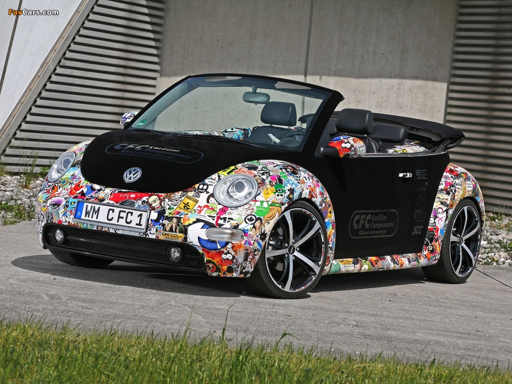CFC Volkswagen New Beetle Cabrio 2011 photos (1024 x 768)