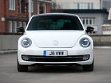 Volkswagen Beetle UK-spec 2011 wallpapers