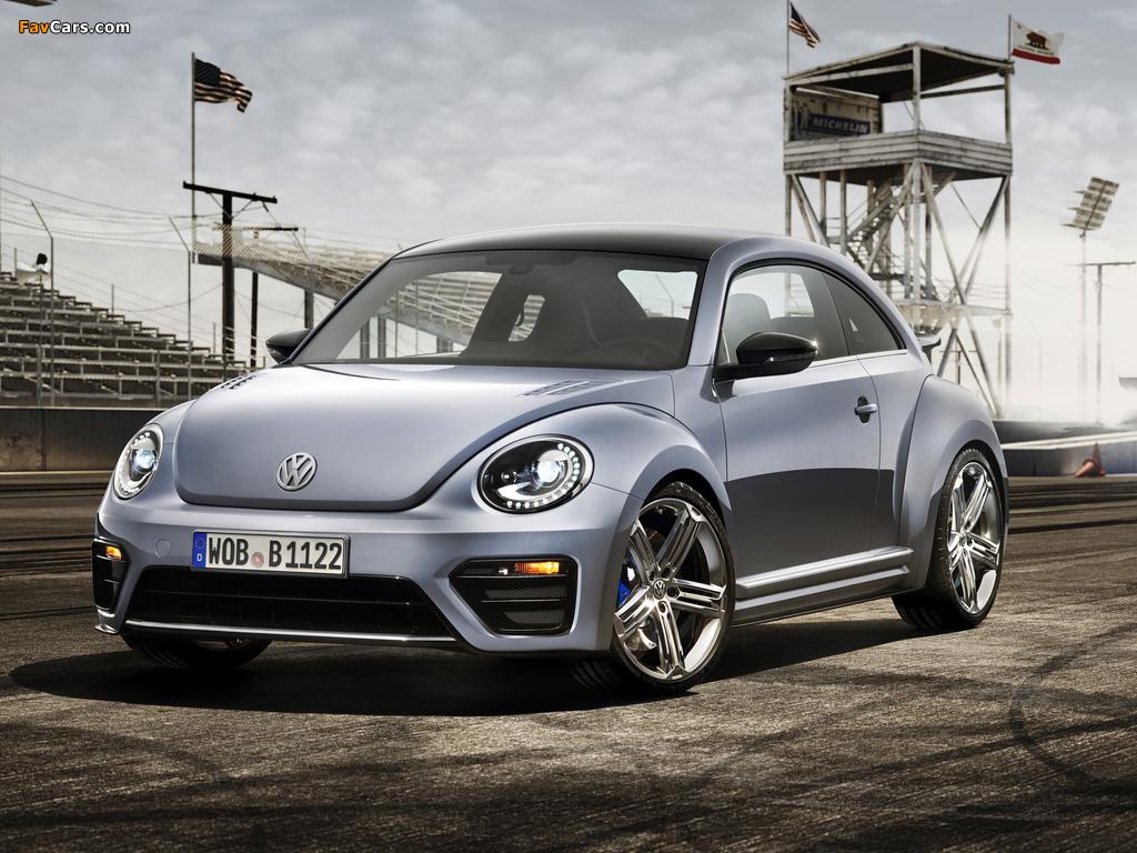 Volkswagen Beetle R Concept 2011 wallpapers (1024 x 768)