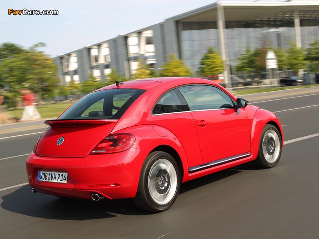 Volkswagen Beetle 2011 wallpapers (640 x 480)