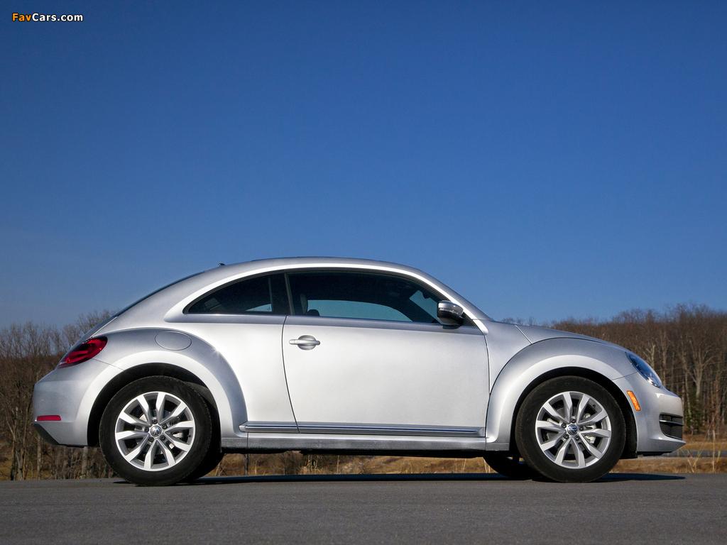 Volkswagen Beetle TDi US-spec 2012 images (1024 x 768)