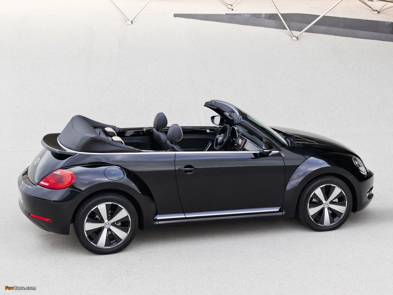 Volkswagen Beetle Cabrio Exclusive 2012 images (1280 x 960)