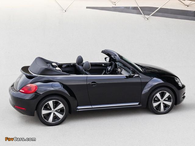 Volkswagen Beetle Cabrio Exclusive 2012 images (640 x 480)