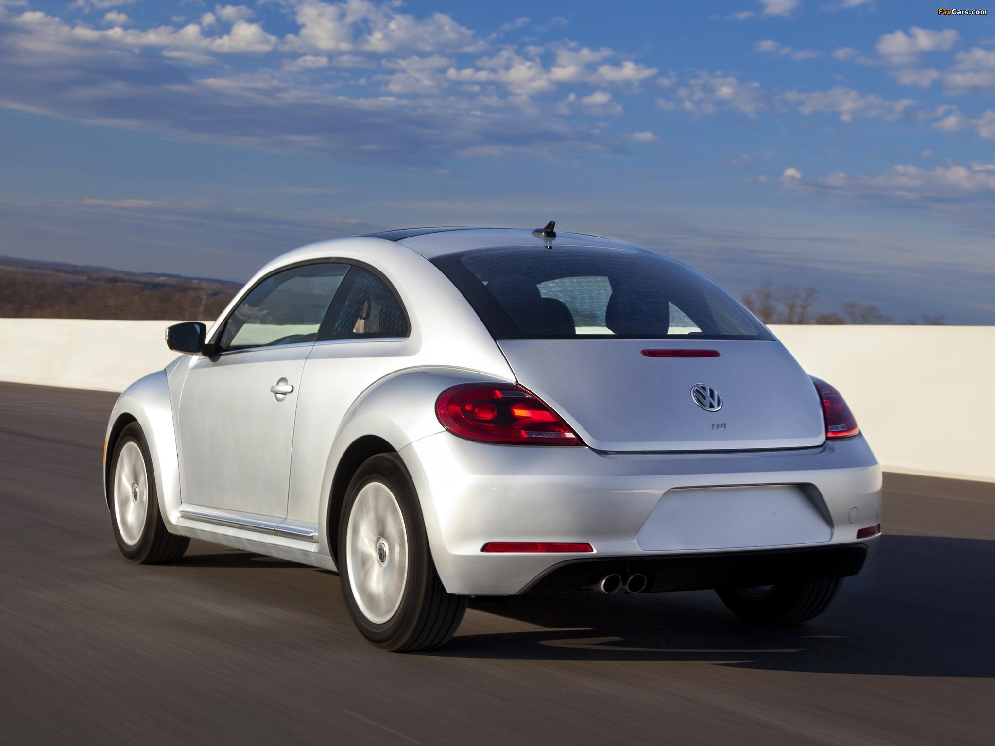Volkswagen Beetle TDi US-spec 2012 images (2048 x 1536)
