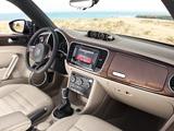 Volkswagen Beetle Cabrio 70s Edition 2012 photos