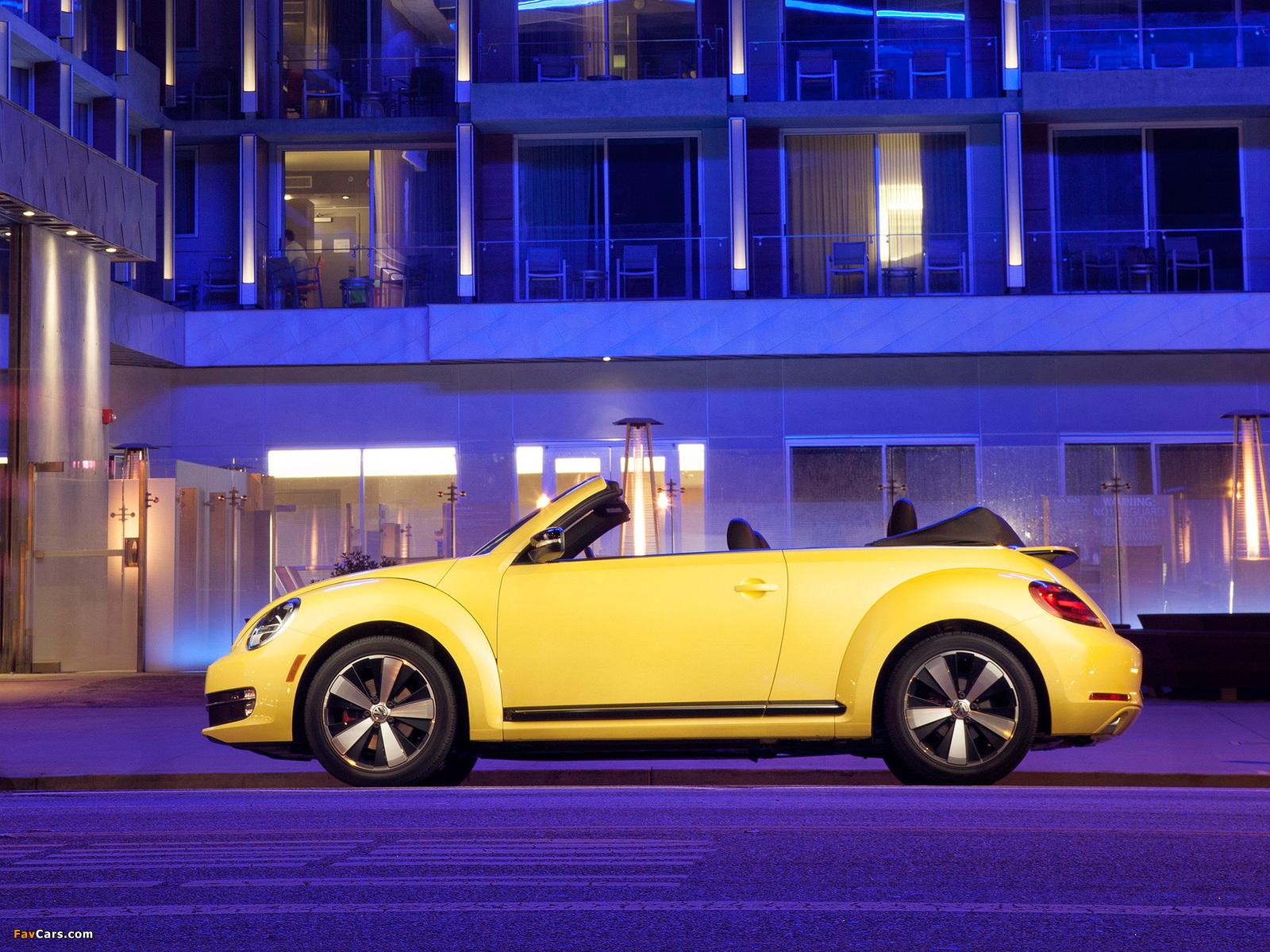 Volkswagen Beetle Convertible 2012 photos (1600 x 1200)