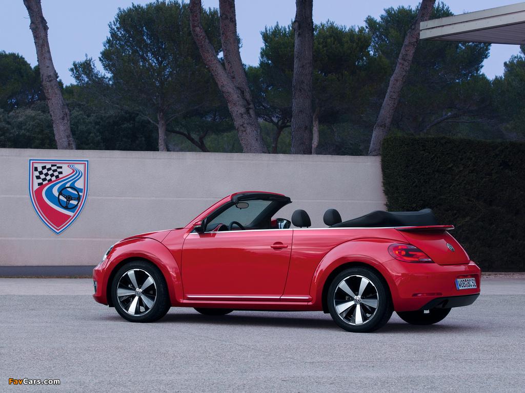 Volkswagen Beetle Cabrio 2012 pictures (1024 x 768)