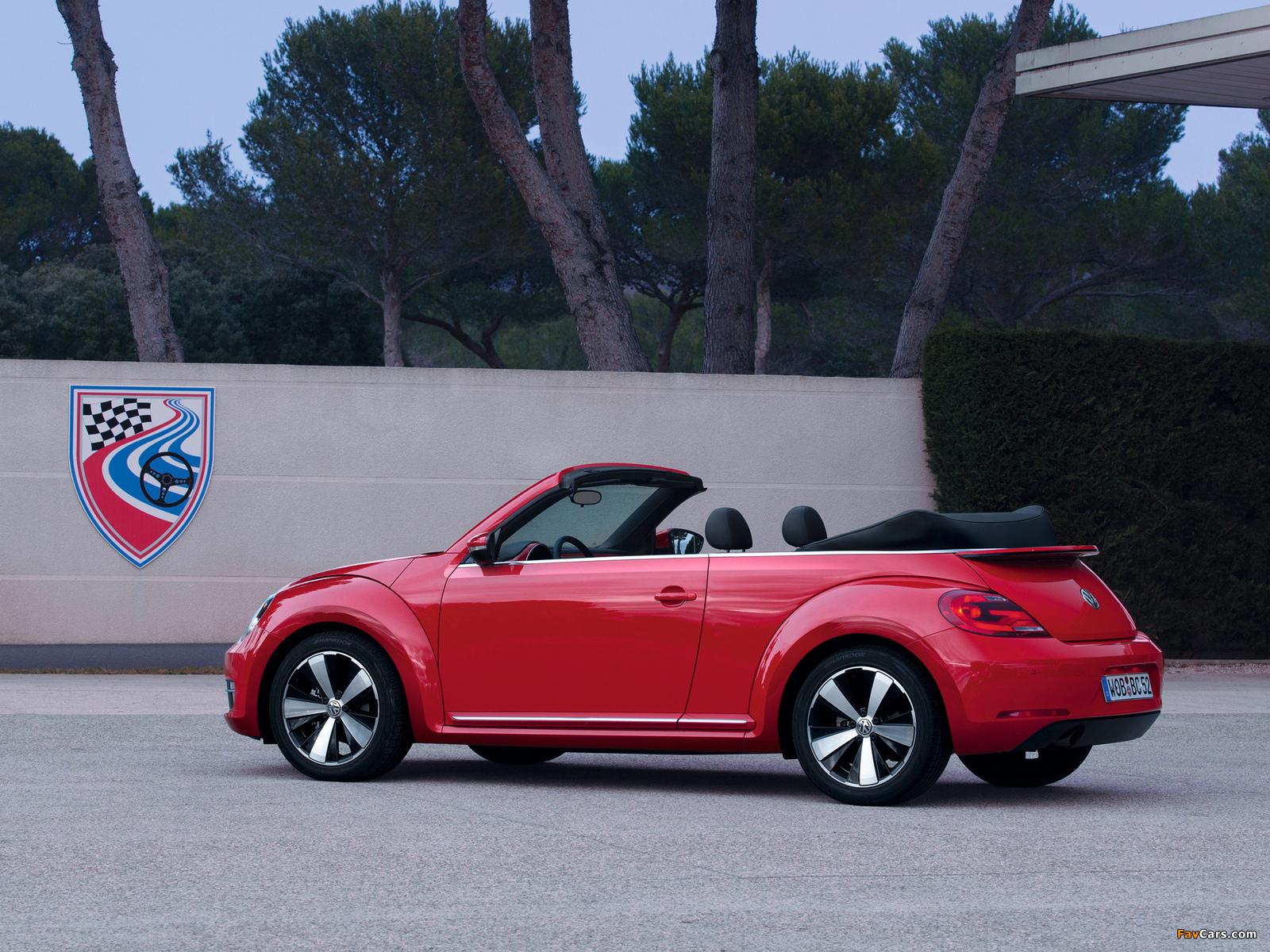 Volkswagen Beetle Cabrio 2012 pictures (1600 x 1200)