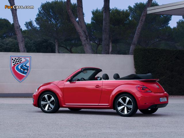 Volkswagen Beetle Cabrio 2012 pictures (640 x 480)