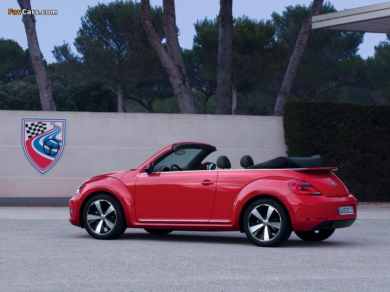 Volkswagen Beetle Cabrio 2012 pictures (800 x 600)