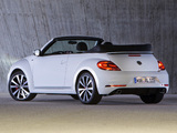 Volkswagen Beetle Cabrio R-Line 2012 pictures