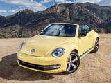 Volkswagen Beetle Convertible 2012 wallpapers