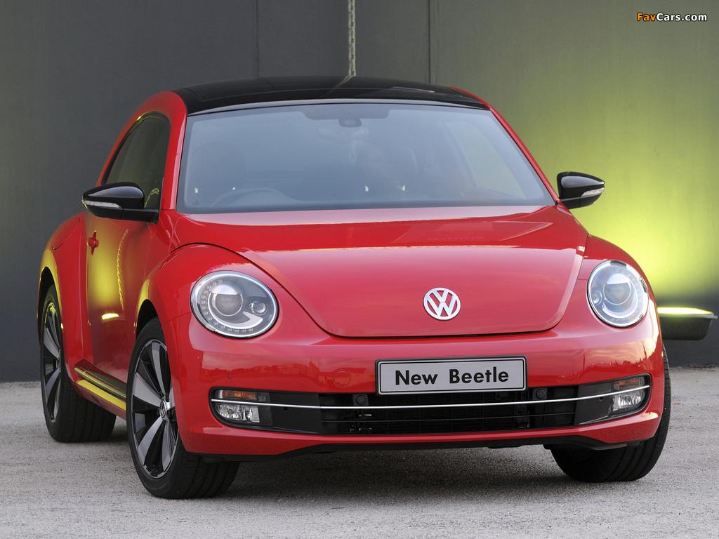 Volkswagen Beetle ZA-spec 2012 wallpapers (1024 x 768)