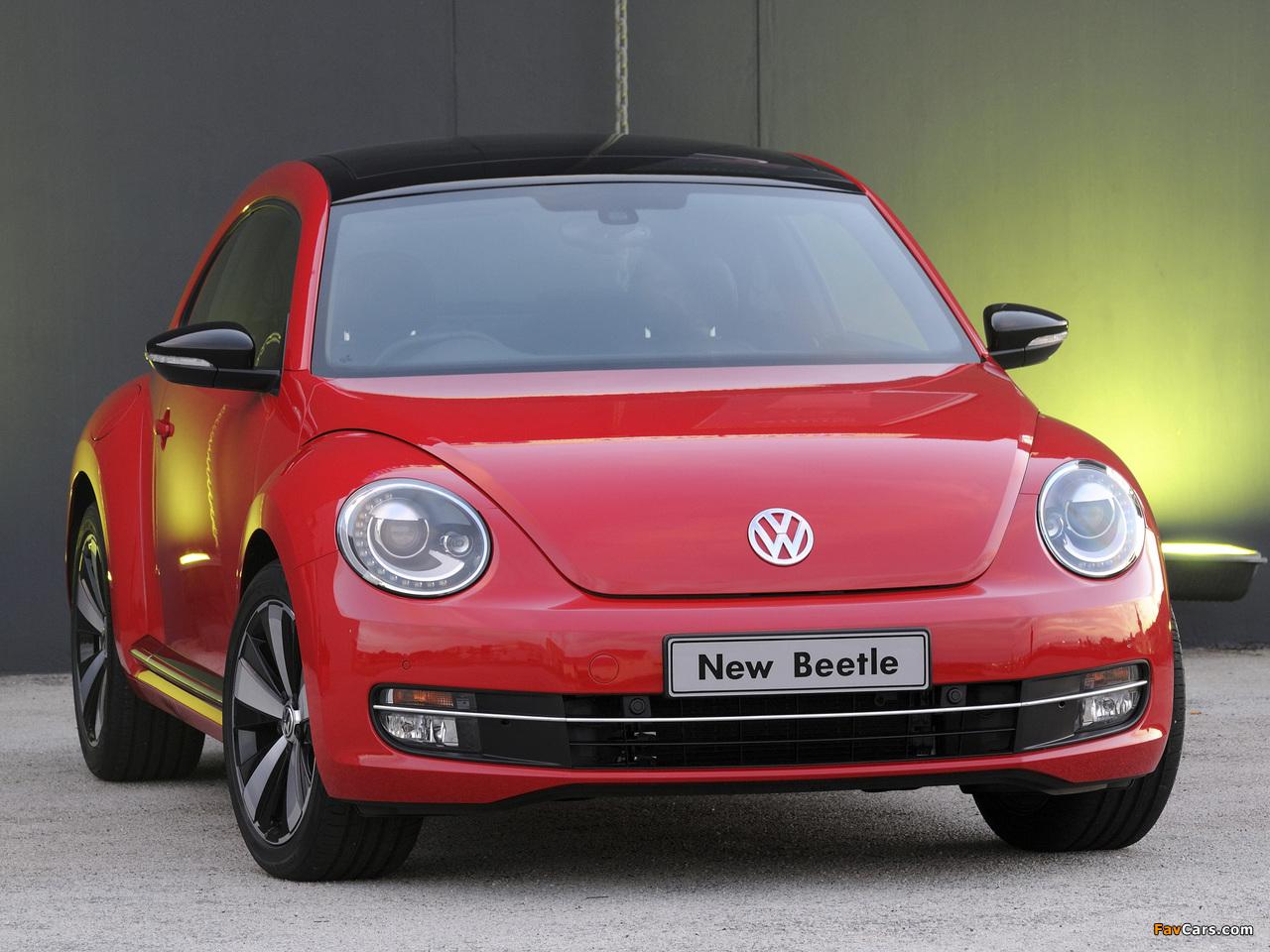 Volkswagen Beetle ZA-spec 2012 wallpapers (1280 x 960)