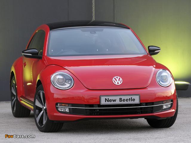 Volkswagen Beetle ZA-spec 2012 wallpapers (640 x 480)