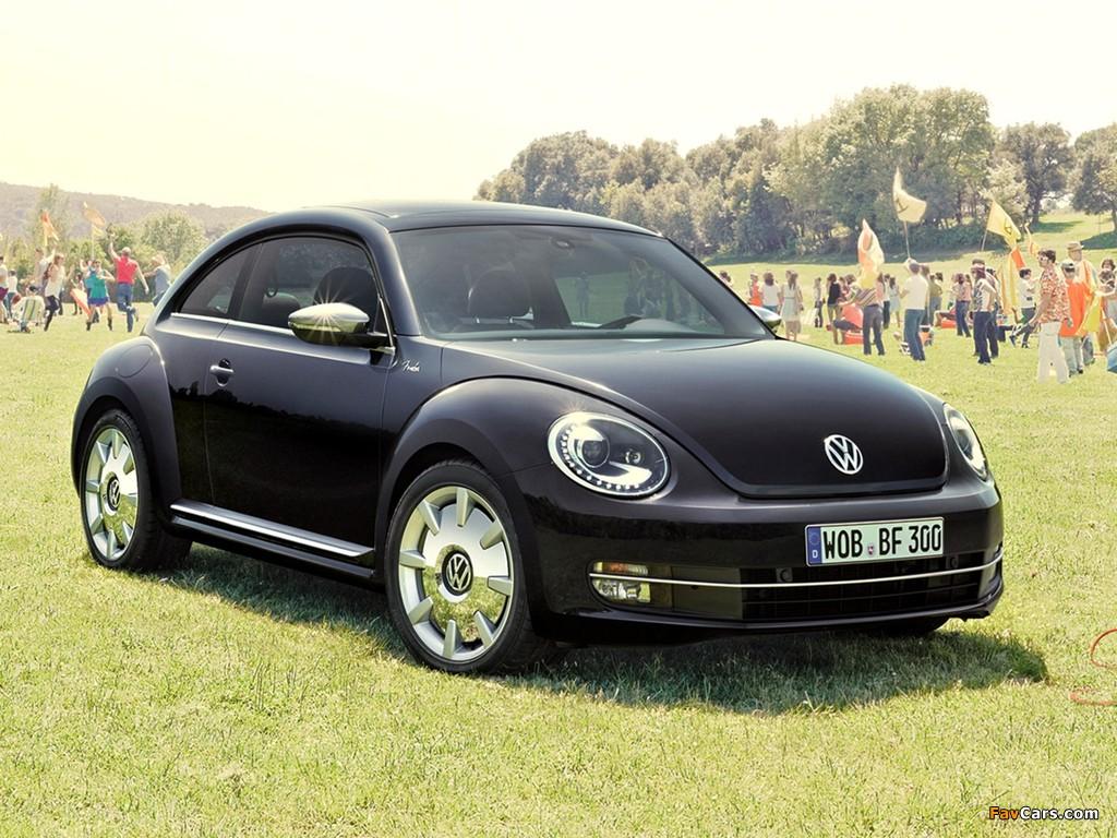 Volkswagen Beetle Fender Edition 2012 wallpapers (1024 x 768)