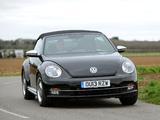 Volkswagen Beetle Cabrio 50s Edition UK-spec 2013 images